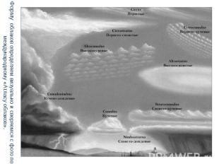 Форму облаков определяем визуально и сверяемся с фото по международному «Атласу