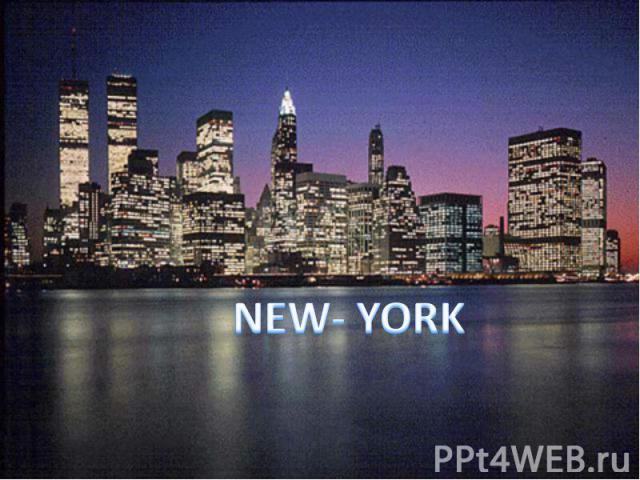 NEW- YORK