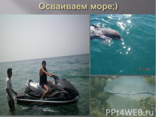 Осваиваем море;)