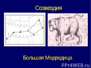 СозвездияБольшая Медведица