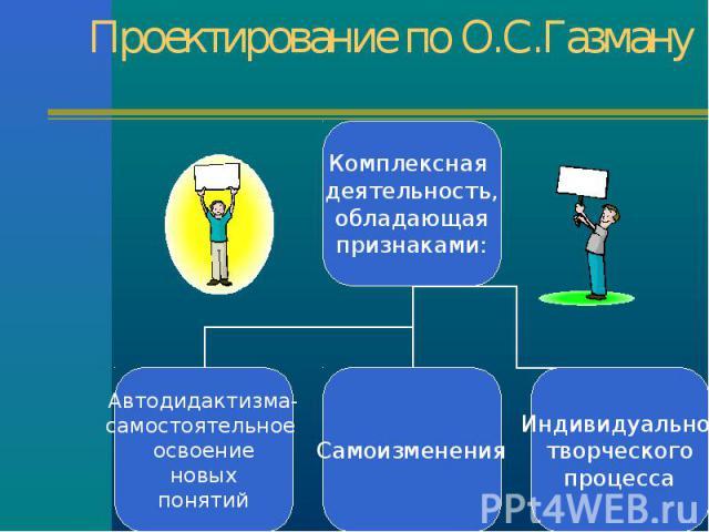 Проектирование по О.С.Газману