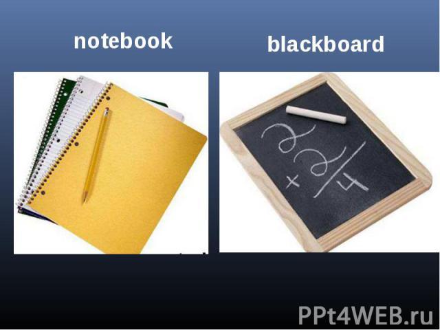 notebookblackboard