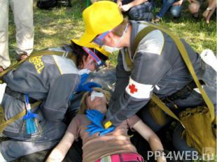 Первая помощь:Убрать пострадавшего из помещения с высоким содержанием угарного г