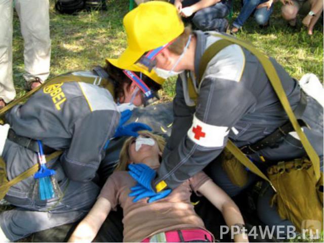 Первая помощь:Убрать пострадавшего из помещения с высоким содержанием угарного газа.Способствуют ликвидации последствий отравления: растирание тела, прикладывание грелки к ногам, кратковременное вдыхание нашатырного спирта (тампоном нужно помахивать…