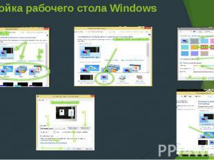 Настройка рабочего стола Windows 8
