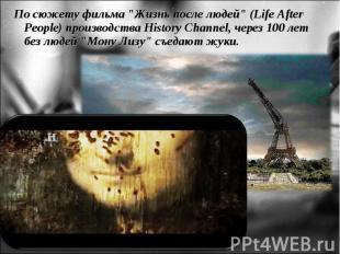 """По сюжету фильма """"Жизнь после людей"""" (Life After People) производства"""