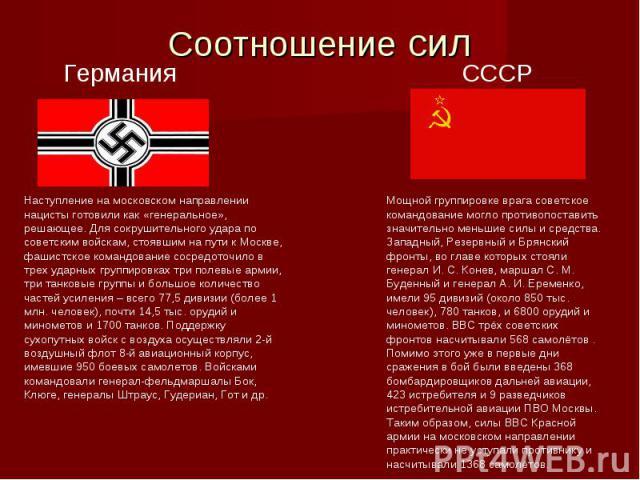 Наступление на московском направлении нацисты готовили как «генеральное», решающее. Для сокрушительного удара по советским войскам, стоявшим на пути к Москве, фашистское командование сосредоточило в трех ударных группировках три полевые армии, три т…