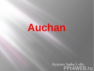Auchan Kytyzov Sasha 5 «B»