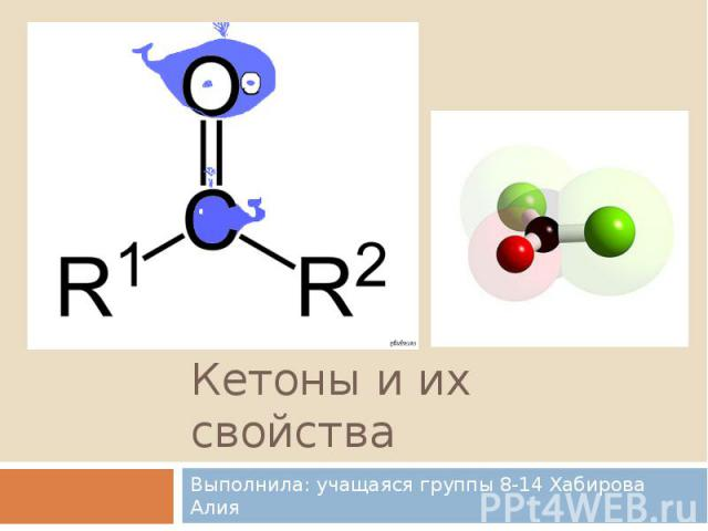 Кетоны и их свойства Выполнила: учащаяся группы 8-14 Хабирова Алия