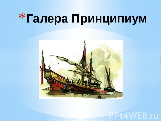 Галера Принципиум