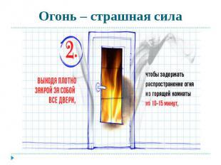 Огонь – страшная сила