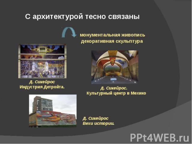 С архитектурой тесно связаны
