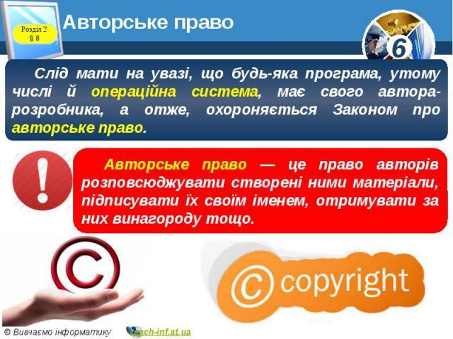 Авторське право