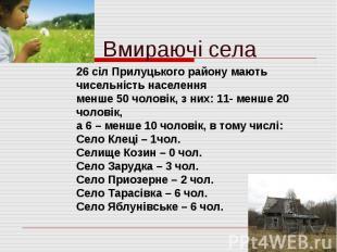 Вмираючі села