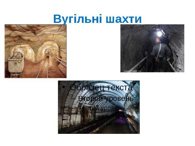 Вугільні шахти