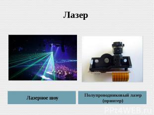 Лазер Лазерное шоу Полупроводниковый лазер (принтер)