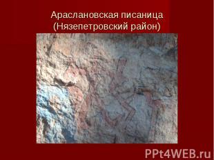 Араслановская писаница(Нязепетровский район)