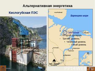 Альтернативная энергетика Кислогубская ПЭС