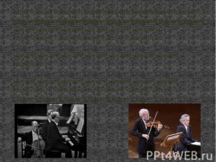 Много сонат написано и для двух инструментов: например, для скрипки и фортепиано