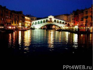 Интересные факты: Венеция Венеция – это 118 разбросанных в лагуне островов, кото