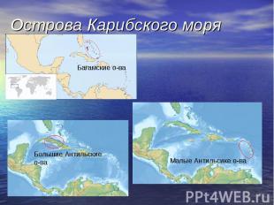 Острова Карибского моря