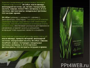 Крем восстанавливающий против первых признаков старения кожи (ночной): SK-influx