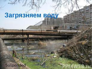 Загрязняем воду