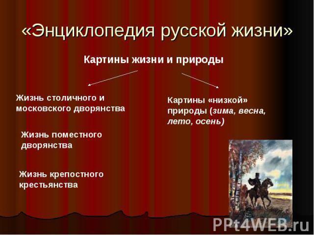 «Энциклопедия русской жизни»