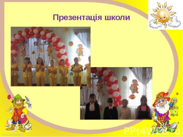 Презентація школи