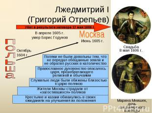 Лжедмитрий I(Григорий Отрепьев)