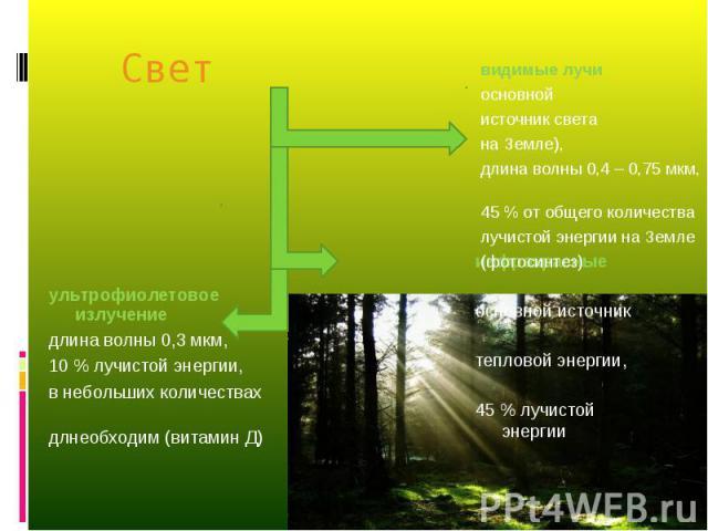 инфракрасные основной источник тепловой энергии, 45 % лучистой энергии