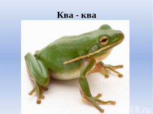 Ква - ква
