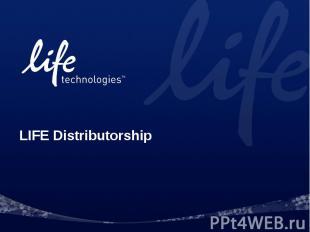 LIFE Distributorship