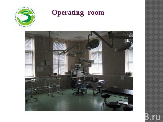 Operating- room
