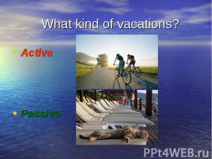 Active Active Passive