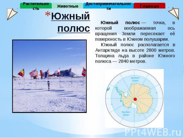 Южный полюс