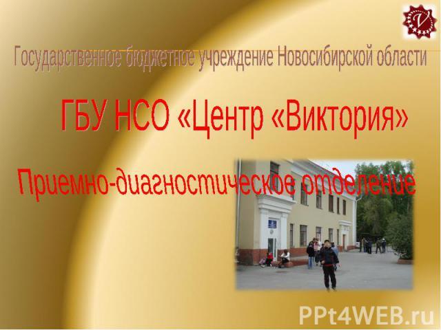 Государственное бюджетное учреждение Новосибирской области ГБУ НСО «Центр «Виктория» Приемно-диагностическое отделение