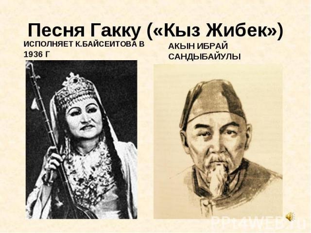 ИСПОЛНЯЕТ К.БАЙСЕИТОВА В 1936 Г ИСПОЛНЯЕТ К.БАЙСЕИТОВА В 1936 Г