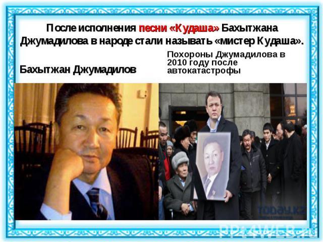 Бахытжан Джумадилов Бахытжан Джумадилов