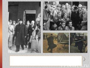 Среди десантников находился кинооператор, посланный Геббельсом, — он снимал проп
