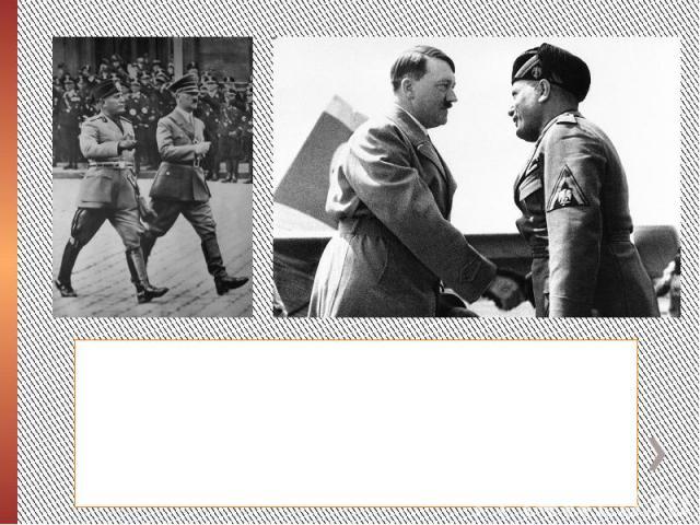 В ночь с 9 на 10 июля, англо-американские войска начали высадку в Сицилии. Итальянская армия находилась на грани краха.19 июля 1943 года состоялась последняя встреча Гитлера и Муссолини на итальянской земле. Гитлер настоятельно требовал от дуче акти…