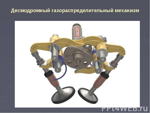 Десмодромный газораспределительный механизм