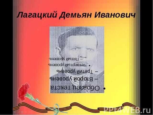 Лагацкий Демьян Иванович