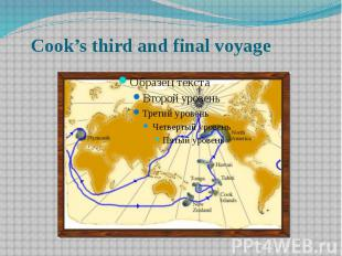 Cook's third and final voyage