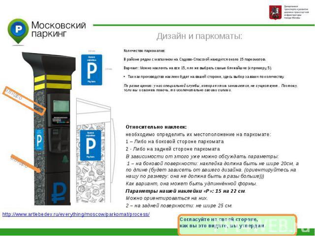 М.ВИДЕОДизайн и паркоматы: