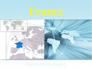 France Presentation in English