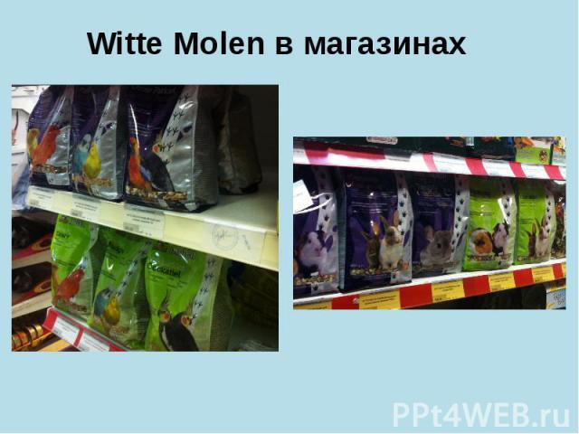 Witte Molen в магазинах