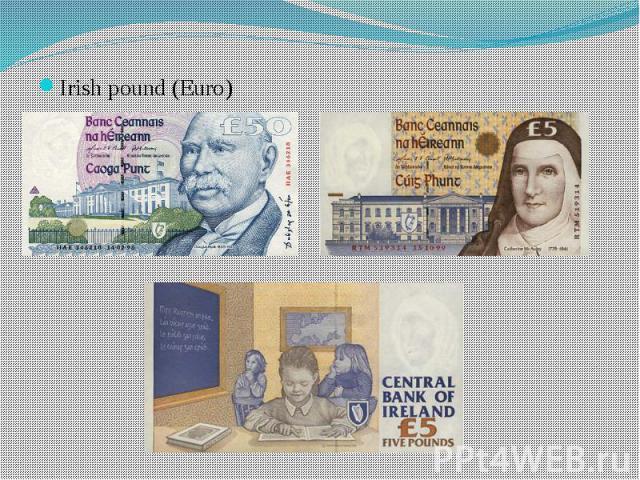 Irish pound (Euro) Irish pound (Euro)