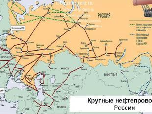 Крупные нефтепроводы России