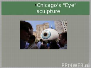 Chicago's Eye sculpture